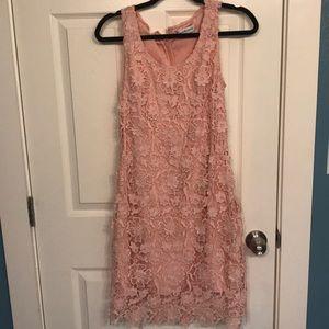 Dresses & Skirts - Blush pink lace dress